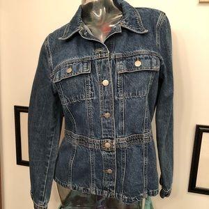 Zena Jean Jacket Size Large